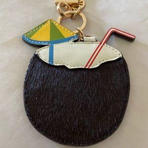 Tory Burch Coconut keyfob *New*